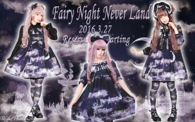 ☪·̩͙✩Fairy Night Never Land✩☪·̩͙3月27日(日)より再販予約スタート