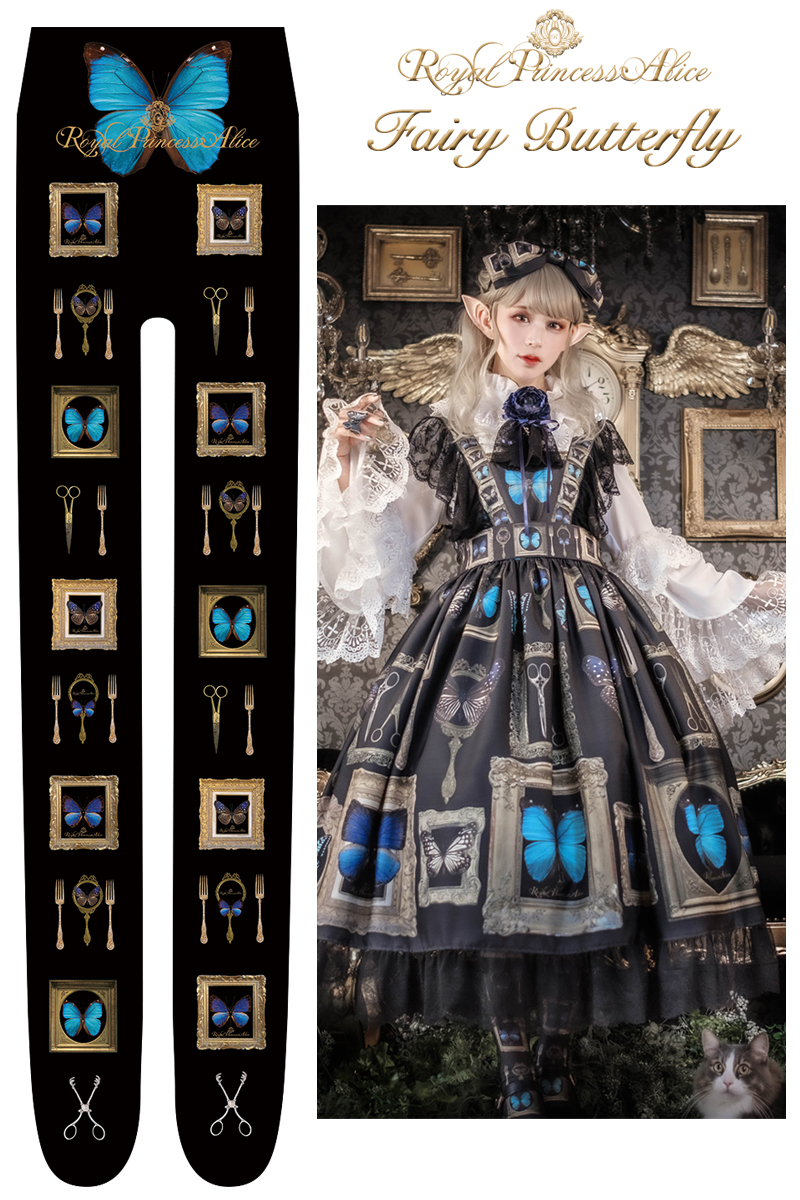 NEW Fairy Butterflyタイツ 【12月中旬より随時発送】