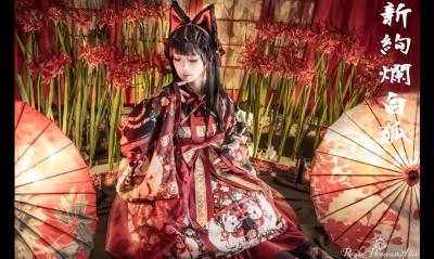 新絢爛白狐(少女主義的水彩画家たまコラボレーション)12月7日先行予約開始