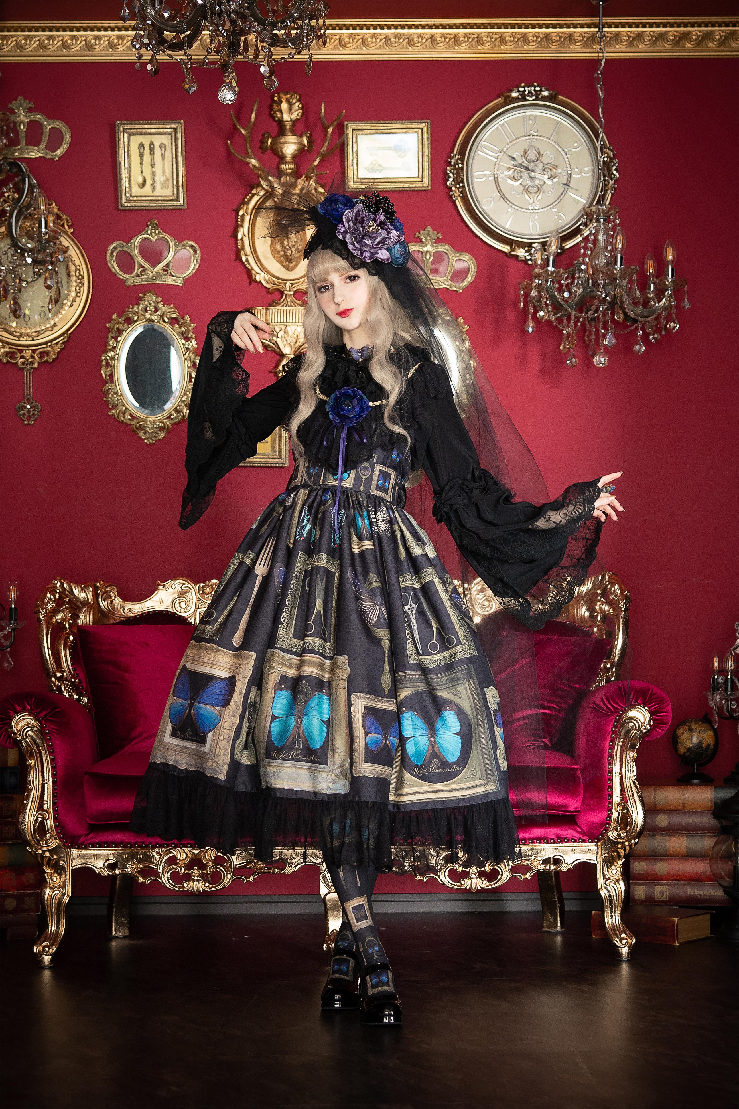 Fairy Butterflyジャンパースカート【6月末より随時発送予定】