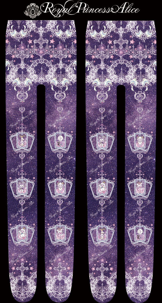 Dreamy Tarotタイツ(たまコラボレーション)Purple