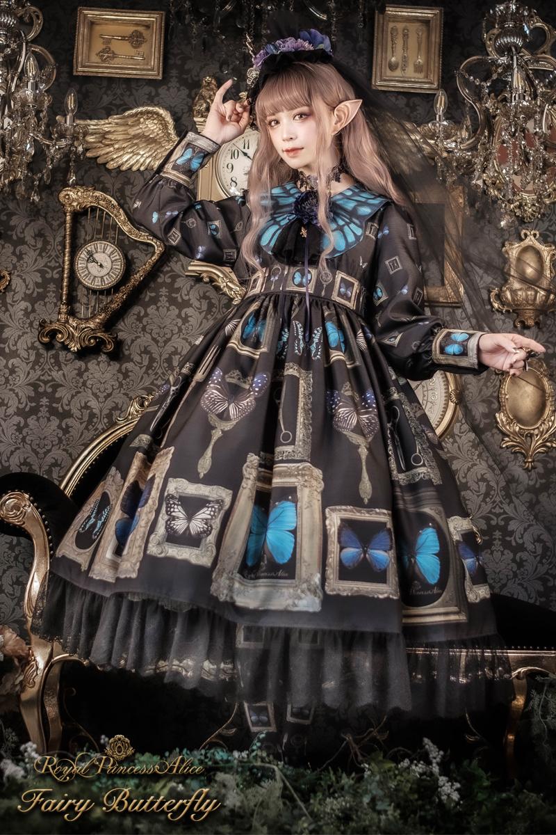 NEW Fairy Butterflyワンピース 【12月中旬より随時発送】