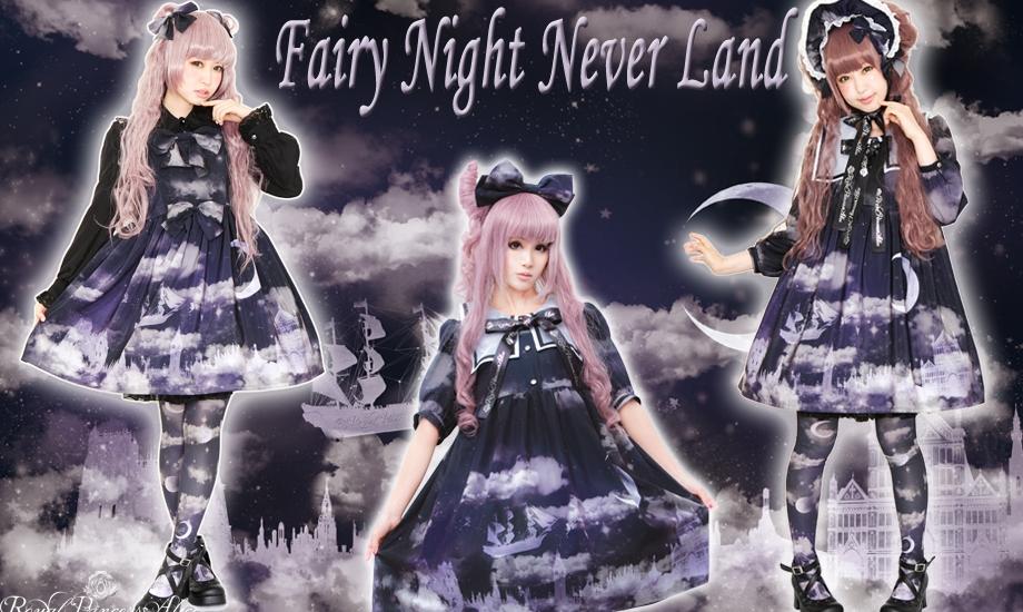 ☪·̩͙✩Fairy Night Never Land✩☪·̩͙2月2日(土)より再販予約スタート