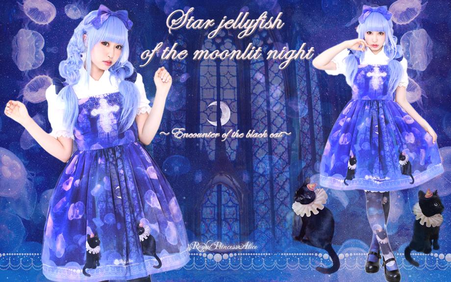 月夜の星海月 ~黒猫の出会い~(再販)3月10日よりオンライン先行予約開始
