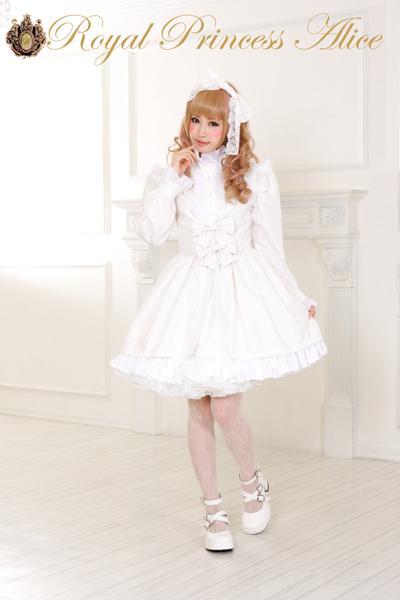 ロイヤルホワイトガーデン ジャンパースカート