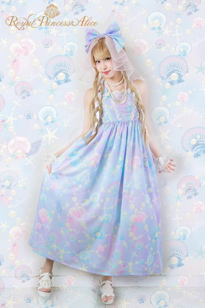 Princess Marineマキシジャンパースカート【マーブル】(8月上旬入荷予定)