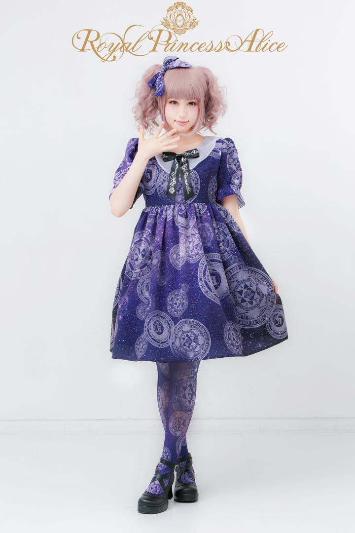 アンカフェ×ロイプリ×KERA SHOPコラボ 魔法陣ワンピース(6月下旬お届け)