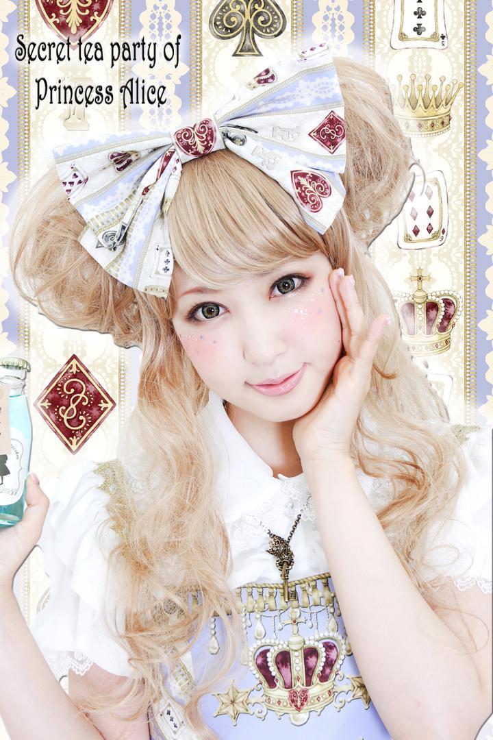 ロイヤルプリンセスアリスの秘密のお茶会カチューシャ(たまコラボレーション)Aliceホワイト