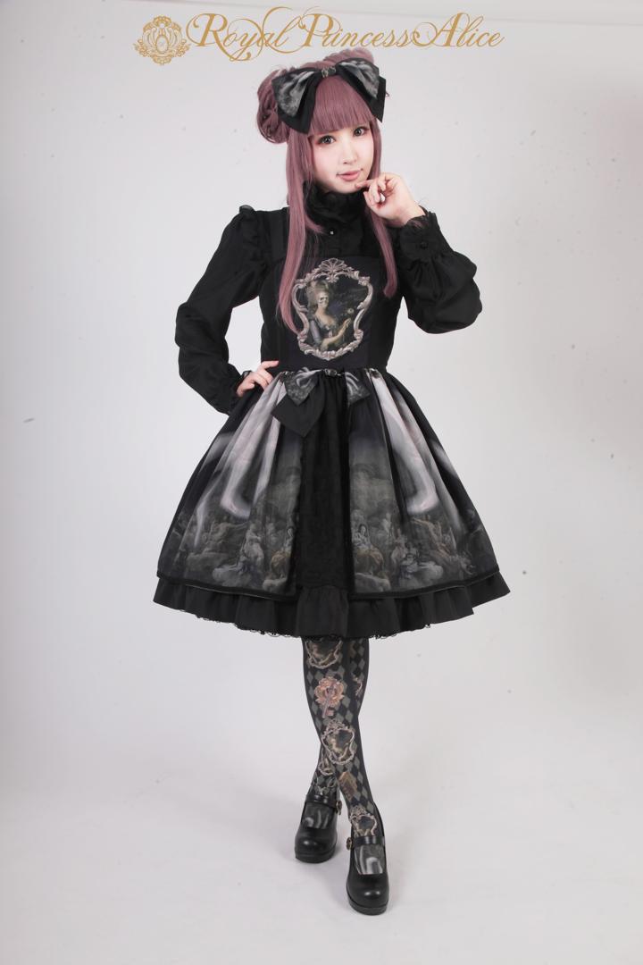 Ghost Marieバッスルジャンパースカート ブラック