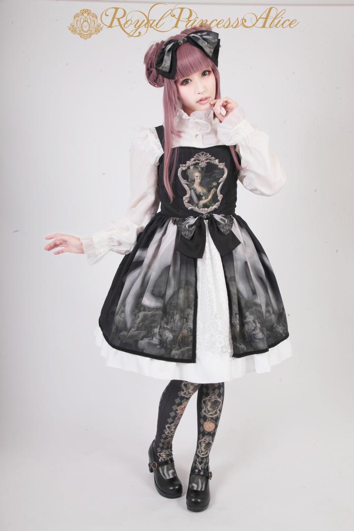 Ghost Marieバッスルジャンパースカート ホワイト(12月上旬お渡し)