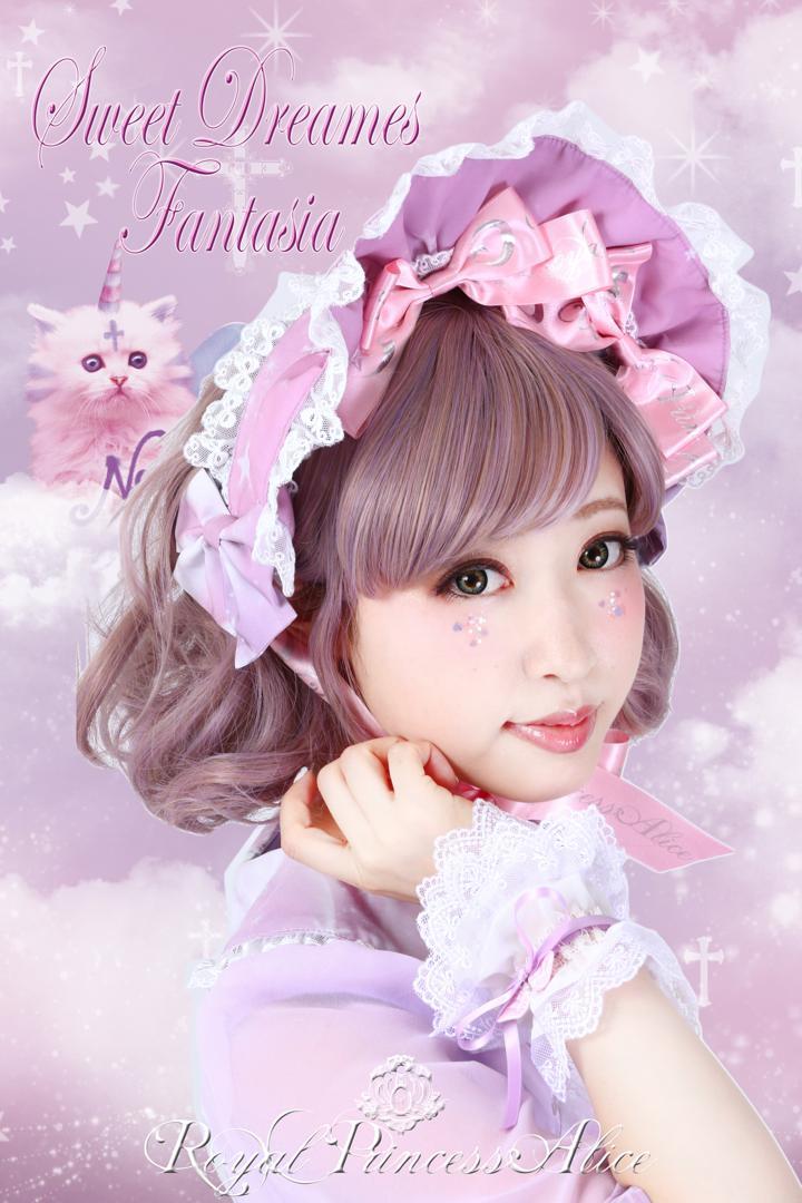 Sweet Dreams Fantasia~甘い夢の幻想曲~ボンネット(木村優ちゃんコラボ)ピンク(6月中旬お届け)