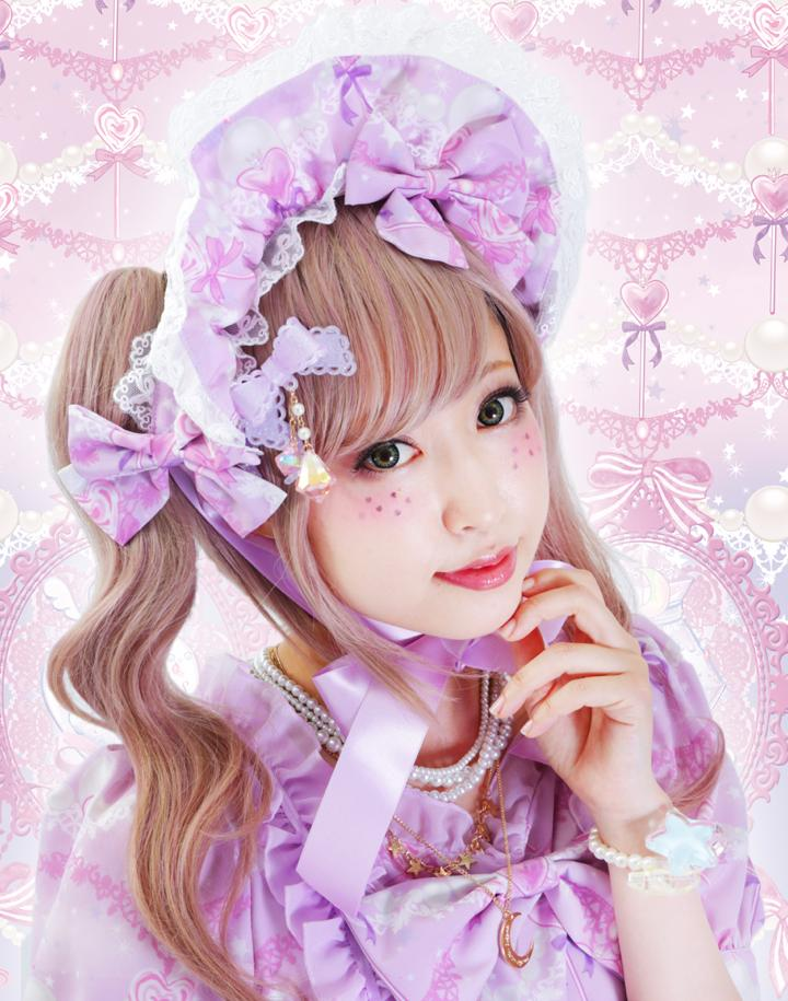 Magic girl perfume pot★魔法少女香水瓶(夏芽みくコラボ)ボンネット【ピンク】(8月下旬お渡し予定)