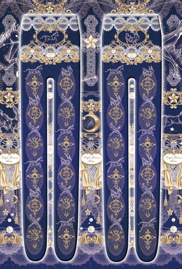 Croix de l'étoile~星の十字架~タイツ(ネイビー)