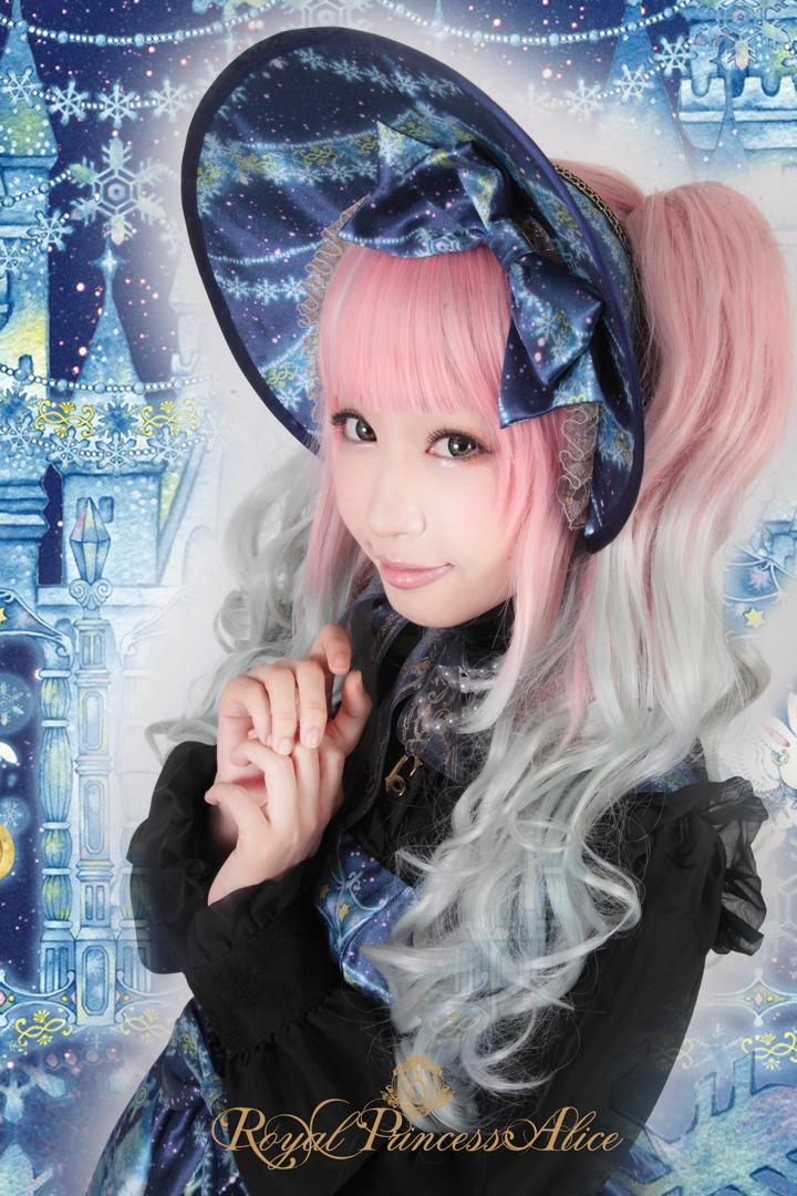 Twinkle Snow Crystalボンネット
